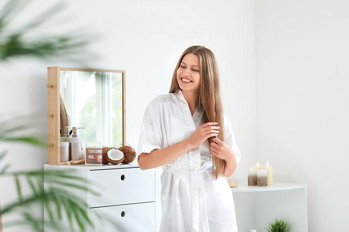 zalety suchego szamponu