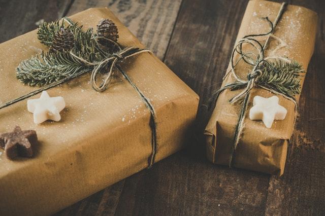 dekoracja prezentu